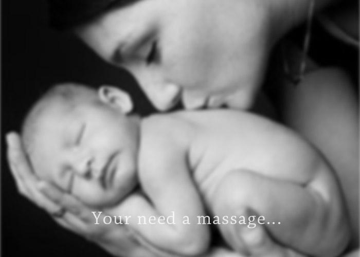 new mother needs a massage
